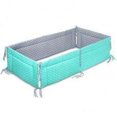 Бампер для детской кроватки Карапуз