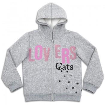 Джемпер теплый для девочки Cats