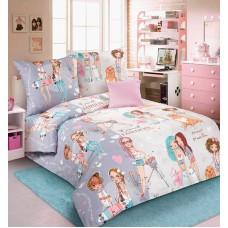 КПБ 1.5 спальный GIRLS