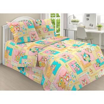 КПБ 1.5 спальный  Совы