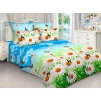 Комплект постельного белья Ромашковое поле