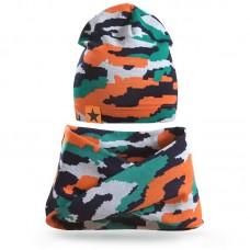 Комплект шапка и шарф Хомут №2