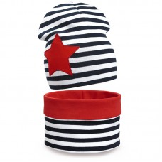 Комплект шарф снуд и шапка Глория
