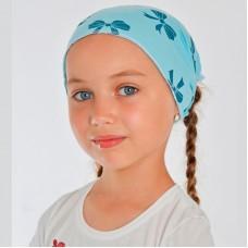 Косынка повязка для девочки на резинке