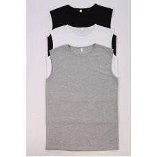 Набор мужских маек  Трио (серая, белая, черная).