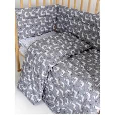 Набор в детскую кроватку Лошадки