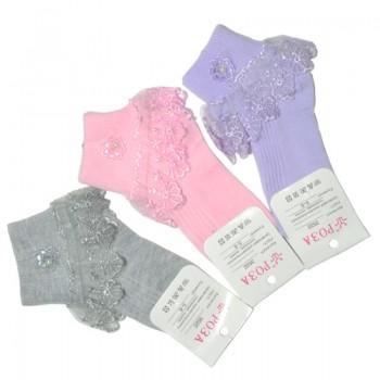 Носки для девочки Бусинка (эконом)