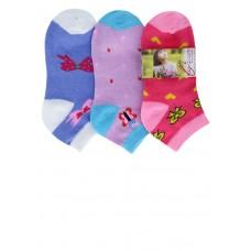 Носки для девочки Комфорт (три пары)