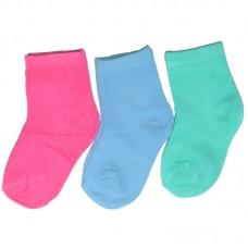 Носки для девочки Однотонные (эконом)
