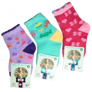 Носки для девочки Радуга (эконом)