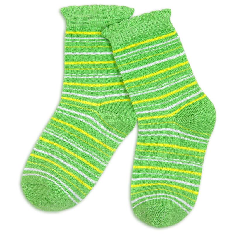 Носки для девочки Разноцветные (эконом)