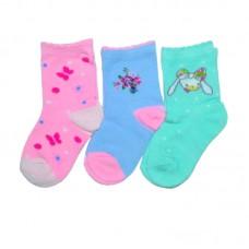 Носки для девочки Снегирь