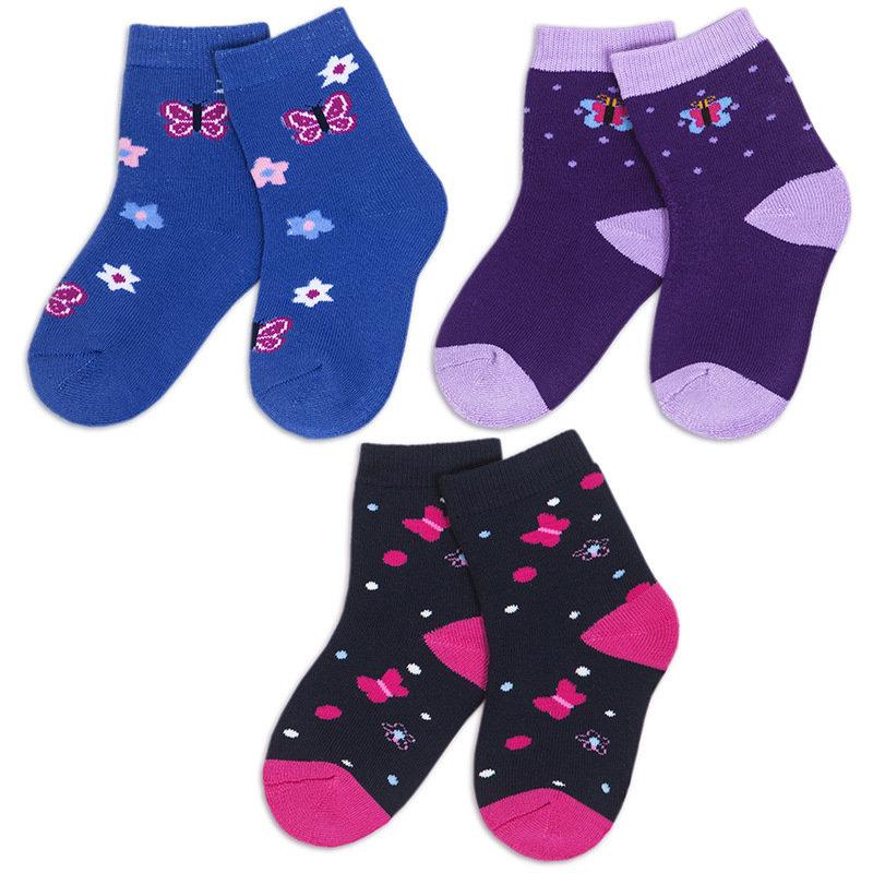 Носки для девочки ма*ровые Лужок