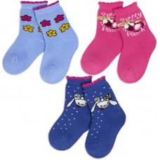 Носки для девочки махровые Усатик
