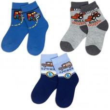 Носки для мальчика махровые Корабли