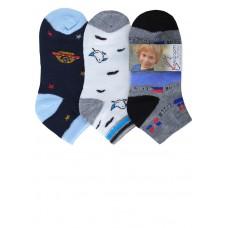 Носки для мальчика укороченные (три пары)
