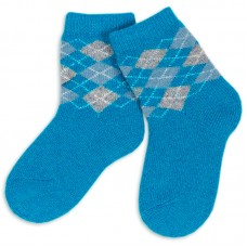 Носки шерстяные для мальчика Ромбики
