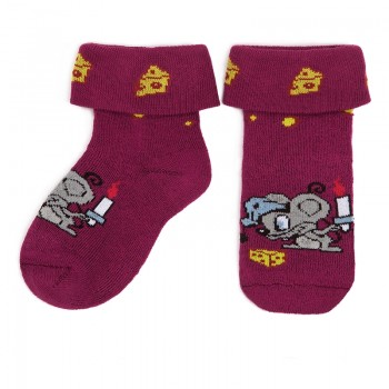 Носки теплые Черри