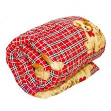 Одеяло овечья шерсть детское среднее  п\э плотность 200