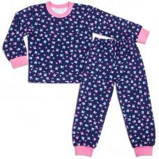 Пижама для девочки Акварель