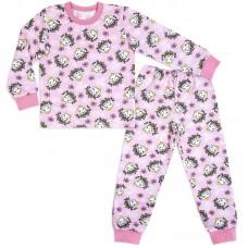 Пижама для девочки Акварель-Розовая