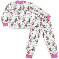 Пижама для девочки Мандаринка - Зайки