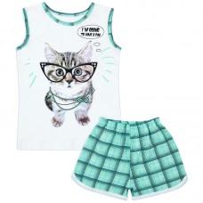 Пижама для девочки Мурка