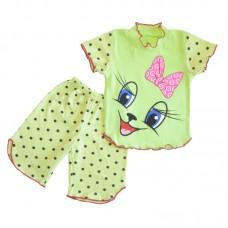 Пижама для девочки Мяу