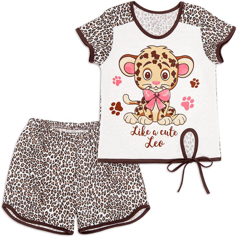 Пижама для девочки Рысь
