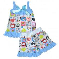 Пижама для девочки Рюша