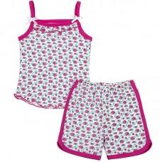 Пижама для девочки на бретелях