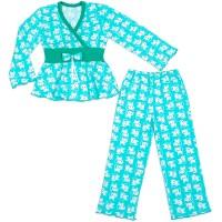 Пижама для девочки с запахом