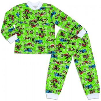 Пижама для мальчика Футер с манжетами