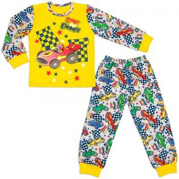 Пижама для мальчика Гонщик