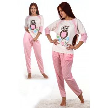 Пижама женская Сова - 1