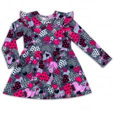 Платье для девочки Happy - Сердце
