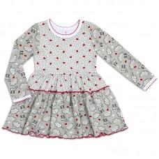 Платье для девочки Комбинированное