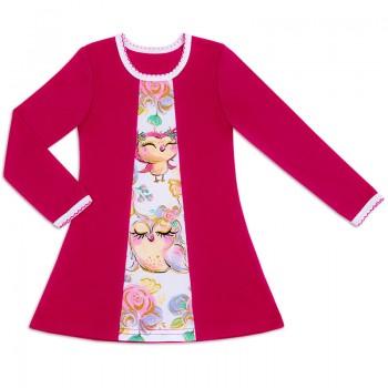 Платье для девочки Пташечка