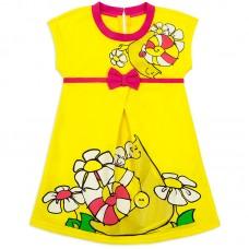 Платье для девочки Улиточка