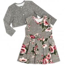 Платье для девочки с болеро Роза