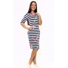 Платье трикотажное Сакура