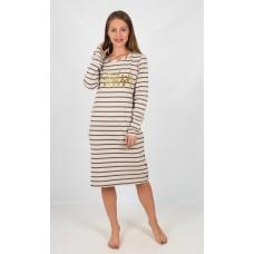 Платье женское полоса