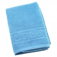 Полотенце махровое Светло Синее
