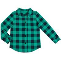 Рубашка для девочки Шотландия