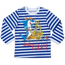 Тельняшка для мальчика Кораблик
