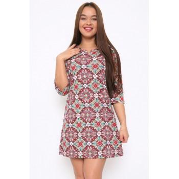 Туника-платье с пояском