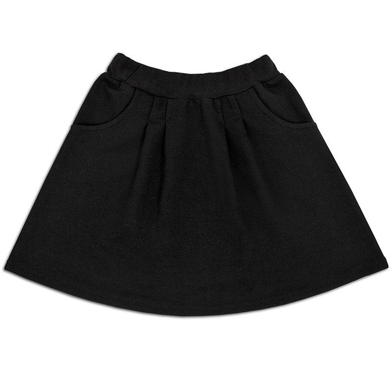 Юбка для девочки с карманами